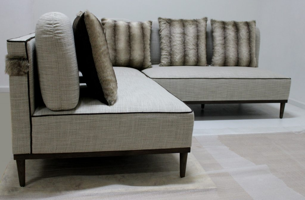 Arrived from the factory: Sofa 'Cozy' by Annette Wernick